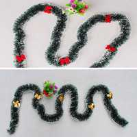 Christmas 2M 5 Butterfly Knot Dark Green Ribbon Decor Christmas Tree Ornament Party Supplies