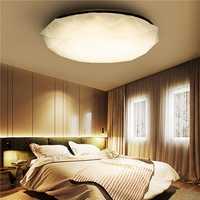 12W White/Warm White Diamond LED Ceiling Light Mount Fixture Lamp for Kitchen Bedroom AC110-220V