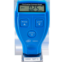GM200A Digital Mini Film Thickness Gauge Automotive Car Coating Paint Thickness Gauge 0-1.8mm for Iron & Alumium