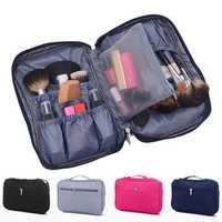 IPRee® Nylon Women Travel Cosmetic Bag Waterproof Makeup Tool Storage Finishing Handbag Organizer Accessories