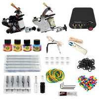 8-10V Professional 2 Tattoo Machine Tools Kit