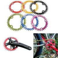 104mm Bike Bicycle Narrow Wide Single Speed Oval Circle Chainring 36T