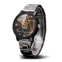 Fashion Gear Wheel Men Quartz Watch Creative Irregular Pattern Dial Watch