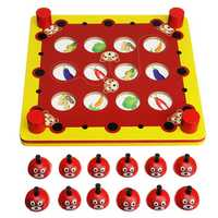Wood Puzzles Memory Matching Game Educational Toys Board Games For Children Kids