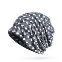 Womens Polyester Multifunctional Beanie Hat Scarf Set