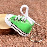 Cute Unique Casual Shoes Pendant Key Chain Ring Souvenir Keychain