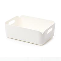 Xiaomi Storage Bin Container Rectangular Pure White Desktop Organizer Baskets PP Box 276x203x97mm