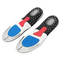 1 Pair Free Size Unisex Gel Orthotic Sport Shoe Insole