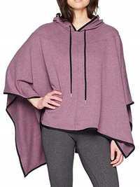Plus Size Women Casual Loose Asymmetric Hem Cloak Hoodies