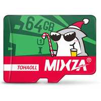 MIXZA Christmas Edition 64GB U1 TF Memory Card