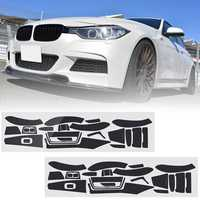 Carbon Fiber Pattern Car Interior Dashboard Sticker Wrap Decoration Right Hand Driving for BMW 3-Series F30 F31 F35 2001-2017