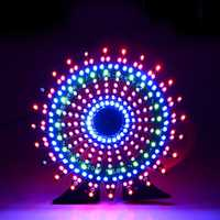 Geekcreit® Ferris Wheel Model Music Spectrum DIY Kit Electronic 51 Single-chip Colorful LED Flash Kit
