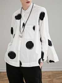 Miting Women Dot Printed Blouses