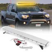 55Inch 150W 104 LED Car Strobe Emergency Amber Lights Bar Beacon Hazard Warning Flash Lamp