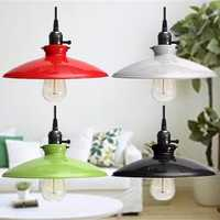 Retro Industrial Iron Ceiling Lamp Holder Vintage Pendant light Deco Chandelier Fixture