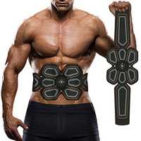 KALOAD USB Charing Body Abdominal Muscle Trainer Fitness Body Stimulator Waist Belt