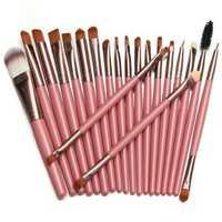 20pcs Makeup Brushes Set Kit Blush Foundation Liquid Eyeshadow Eyeliner Comestic Powder