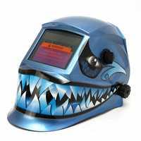 Blue Fang Style Solax Auto Darkening Welding Welder Helmet Mask Arc Tig Mig Grinding