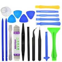 20 in 1 Professional Repairing Opening Tools Tweezers Pry Spudger Tool Kit for iPhone 4s 5s 6s iPad Samsung Surface Tablet