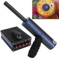 Remote Underground Metal Detector Search Instrument Gold Diamond Detector Aluminum Box 14M Depth