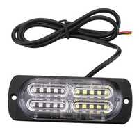 12V-24V 20 LED Car Side Marker Lights Indicator Signal Strobe Lamp Universal for Truck Trailer