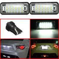 LED License Plate Light Lamp For Subaru BRZ Legacy WRX STI Impreza XV Crosstrek