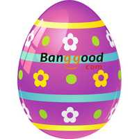 Banggood Smart Watch Wristband Easter Lucky Eggs