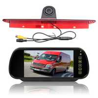 7 Inch Car Rear View Camera Monitor w/Brake Light Reversing Camera Kit Fit Mercedes Sprinter