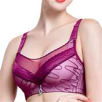 Sexy Breathable Gather Brassiere