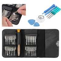 33 in 1 Cell Phone Repair Tools Torx Wallet Screwdriver Repair Tool Set for iPhone Cellphone Xiaomi Tablet PC