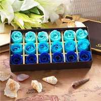 Honana BX-124 18Pcs Rose Soap Flower Bath Romantic Shower Soap Petals Wedding Decoration Gifts