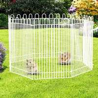 8Pcs Small Animal Playpen Guinea Pig Hamster Mice Play Toy Exercise Portable Fence
