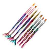 1pc Nail Art Pen Mermaid Dotting Tools