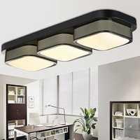 Modern 3 Heads Ceiling Light for Restaurant Living Room Bedroom Home Decoration
