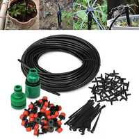 30m Micro Drip Irrigation Watering Kit Automatic Garden Plant Greenhouse Water System