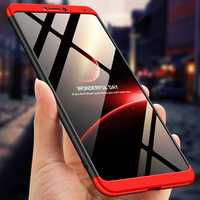 Bakeey™ 3 in 1 Double Dip 360° Full Hard PC Protective Case For Huawei Honor Note 10
