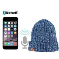 Mens Wireless bluetooth Knitted Beanie Hat