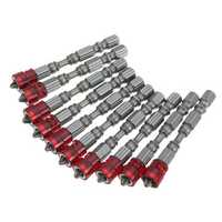 10pcs 65mm PH2 Magnetic Screwdriver Bits 1/4 Inch Hex Shank Screwdriver Bit