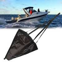 Yacht Sea Sea Anchor Drogue Trolling Drift Sock Brake Kayak Canoe Boat Crusier