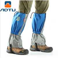 AUTO AT8905 Waterproof 210T Nylon Ultralight Trekking Skiing Foot Sleeve Snow Legging Gaiters