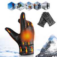 1 Pair Men Women Outdoor Sports Bike Ski Gloves Waterproof Winter Warm Thermal Touch Screen Gloves