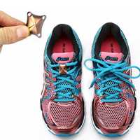 1 Pair Magnetic Shoelace Buckle Sneaker Magnetic Closure Shoelaces Buckles No-tie Shoelace Buckles