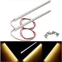 Pair Warm White LED Strip Light Bar 5630 SMD Interior Lamp For Car Van Caravan Boat LWB Fish Tank
