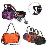 Fashion Landou Waterproof Women Baby Diaper Nappy Changing Shoulder Bag Handbag