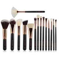 15pcs MAANGE Makeup Cosmetic Brushes Kit Set Facial Foundation Blush Blending Eyeshadow