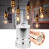 E27 E26 Aluminium Retro Vintage Industrial Edison Screw Light Socket Lamp Holder