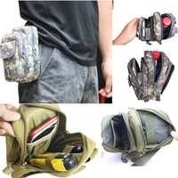 Molle PALS Waist Pack Belt Waist Bag Fishing Tools Waist Bag Pack