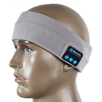 bluetooth Sport Sweat Headbrand Wireless Hands-free Music Sports Smart Caps Call Answer Ears-free Hea