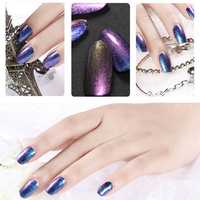 24 Colors 15ml Chameleon Light Halo Color Change Changing Magic Nail UV Gel