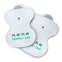 4 Pair Tens Adhesive Squishy Electrode Pads For Acupuncture Digital Therapy Tools